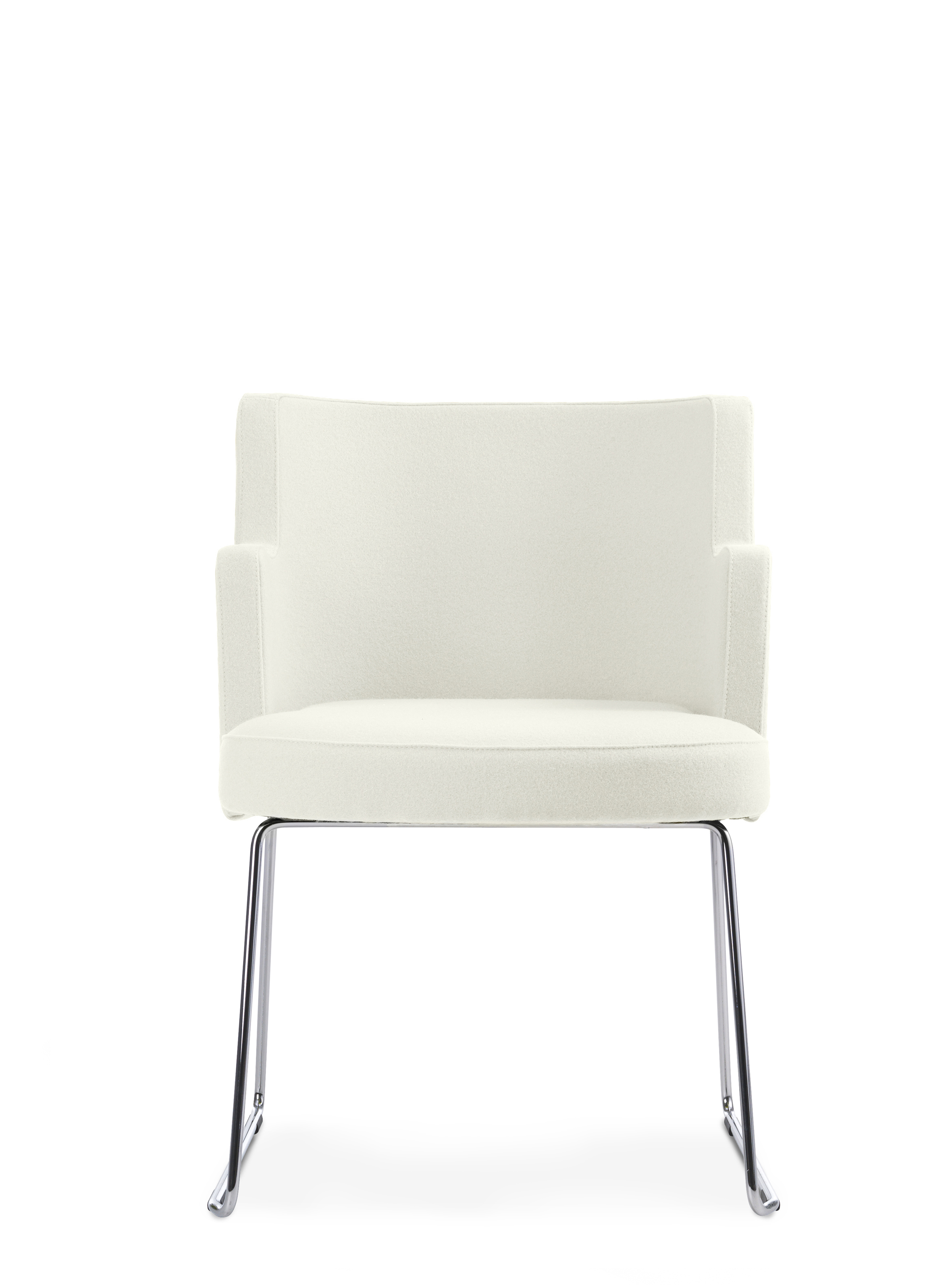 CHARLESTON elegant stol i sammet, ljusgrå sammetsstol