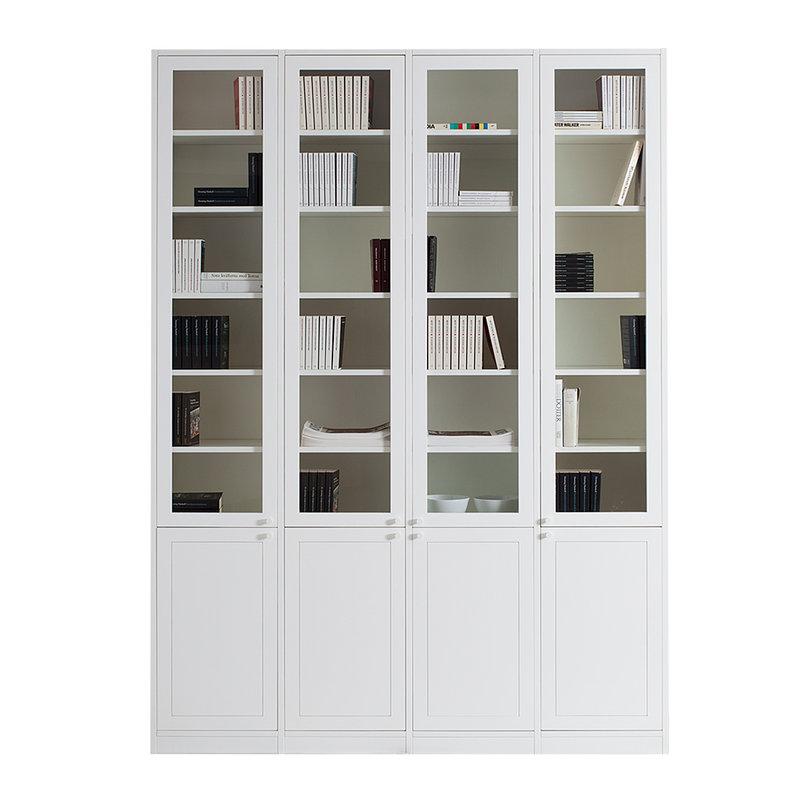 bokhylla ek vit ~ monte byggbar bokhylla  bredaryds möbler