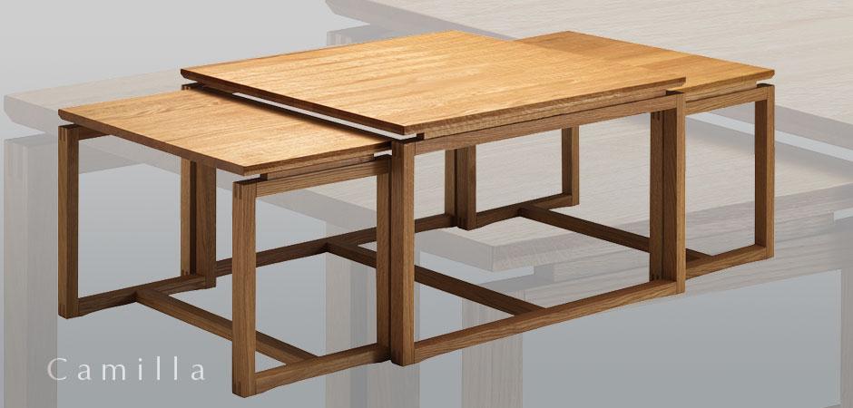 Soffbord soffbord satsbord : Camilla satsbord ek - Bredaryds Möbler